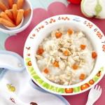 Rice Porridge With Chicken & Carrots