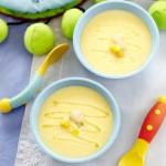 Creamy Corn, Cauliflower & Fish Soup